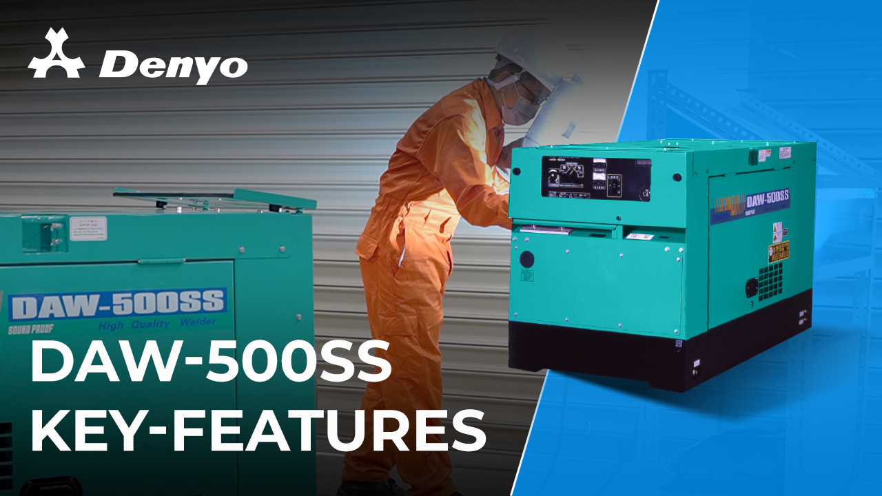 Denyo DAW-500SS Welder - Key Features Introduction