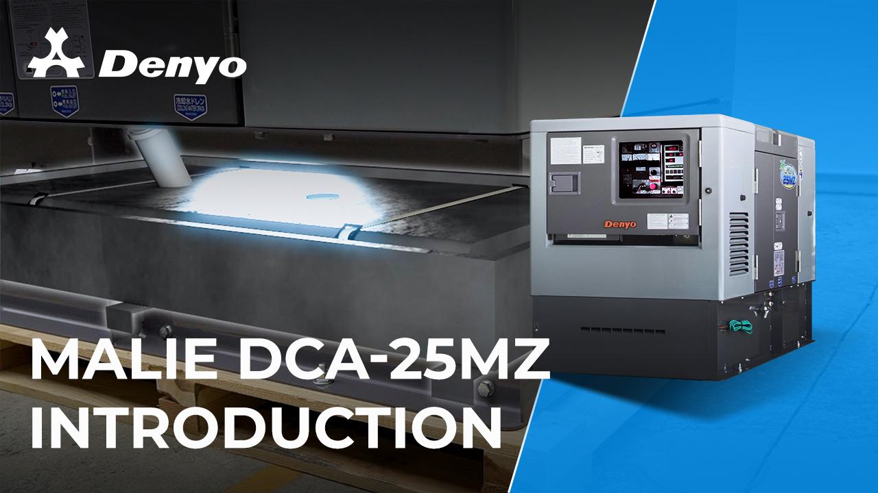 Denyo Malie DCA-25MZ Generator- Introduction Video