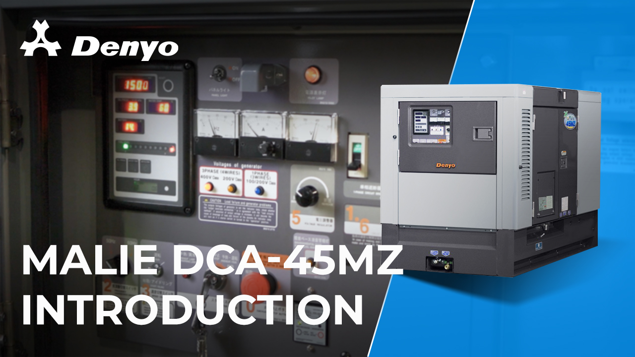 Denyo Malie DCA-45MZ Generator- Introduction Video