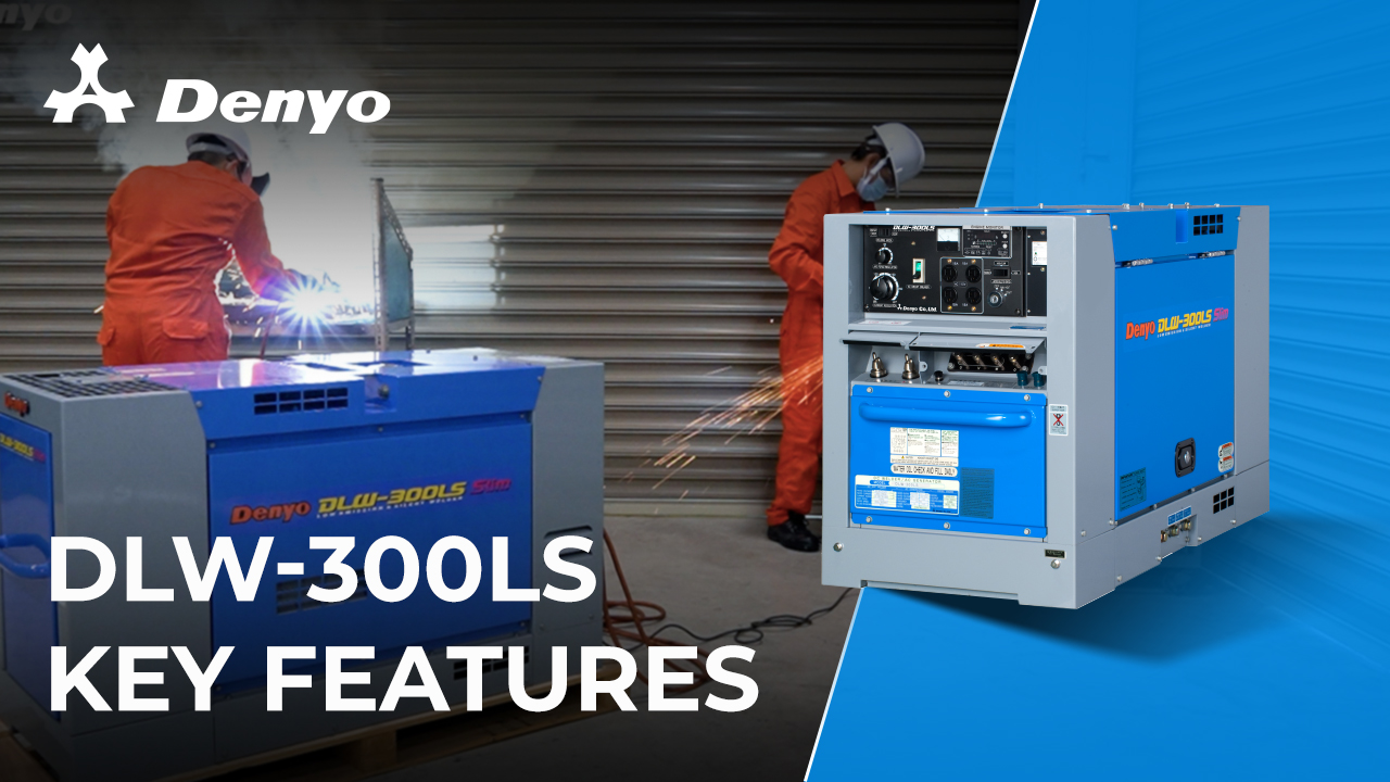 Denyo DLW-300LS Welder - Key Features Introduction
