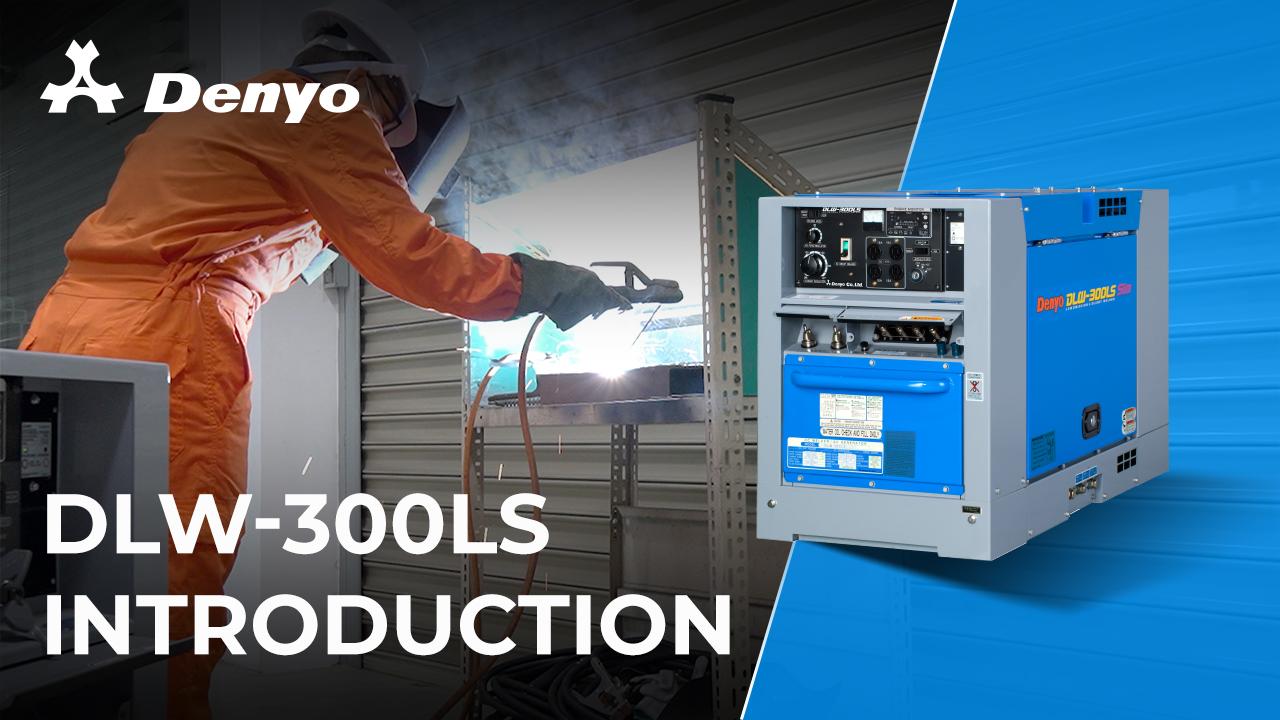 Denyo DLW-300LS Welder – Introduction Video