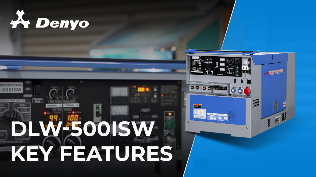 Denyo DLW-500ISW Welder - Key Features Introduction