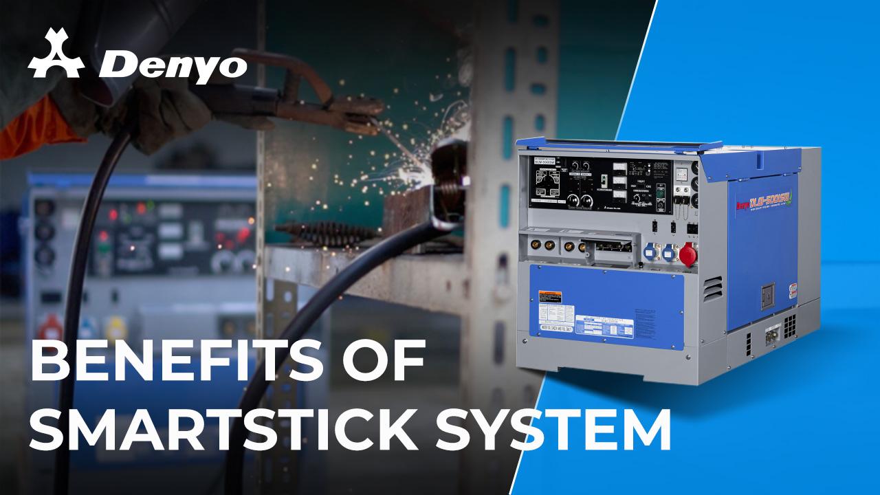 Denyo DLW-500ISW Welder - Benefits of Smart Stick System