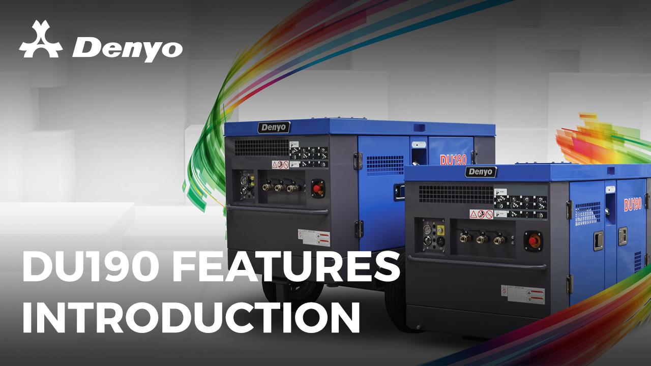 DU-190 Utility Series Air Compressor – Key Features Introduction