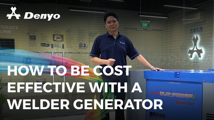 How to Be Cost Effective with A Welder Generator - DLW-500ISW Welder