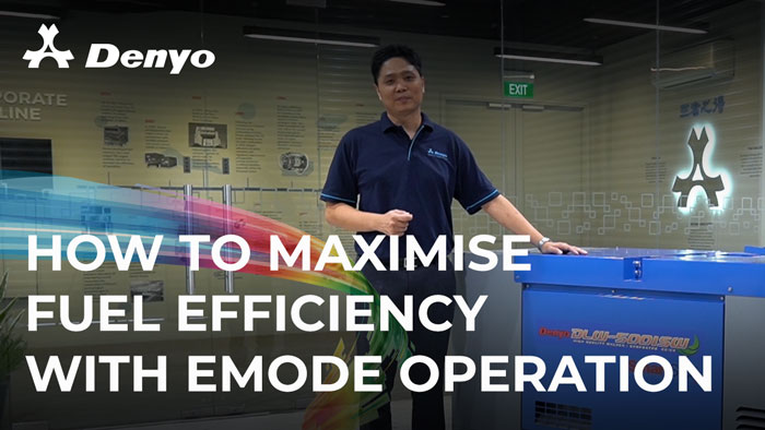 How to Maximise Fuel Efficiency with eMode Operation - DLW-500ISW Welder