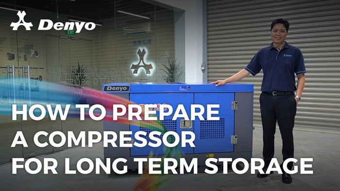 How to Prepare an Air Compressor for Long Term Storage