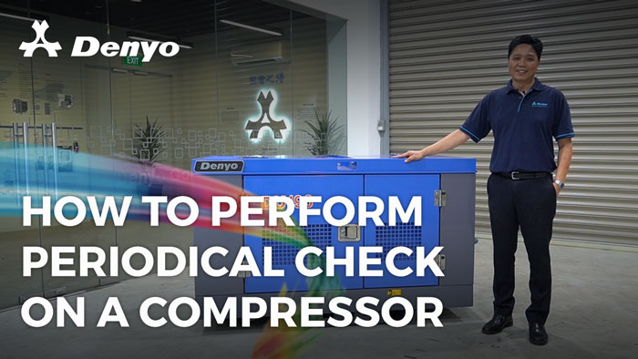 How to Perform Periodical Check on a Compressor