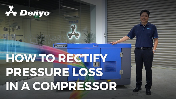 How to Rectify Pressure Loss in an Air Compressor