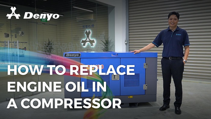 How to Replace Engine Oil in a Compressor
