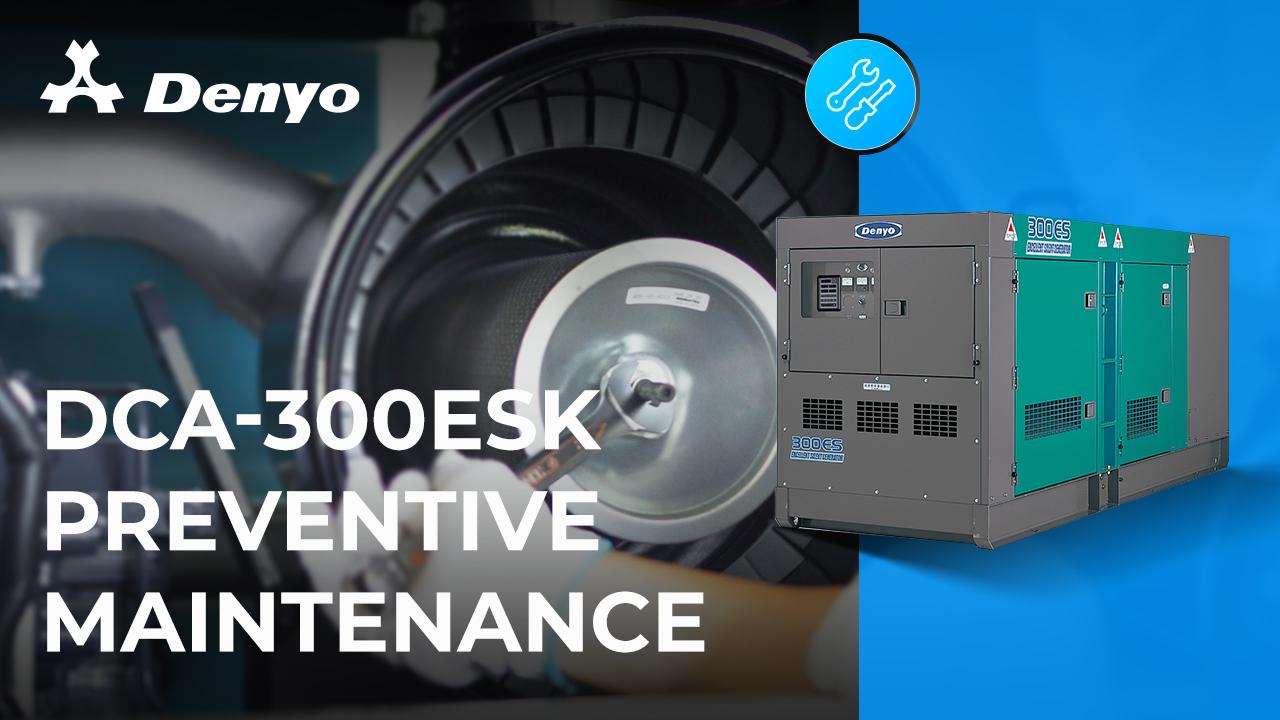 Preventive Maintenance Series - Denyo DCA-300ESK Generator