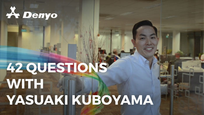 42 Questions with Yasuaki Kuboyama