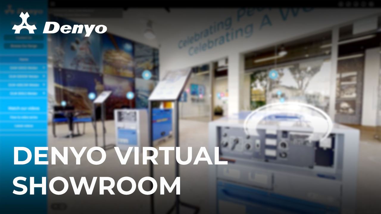 Welcome to the Denyo Virtual Showroom
