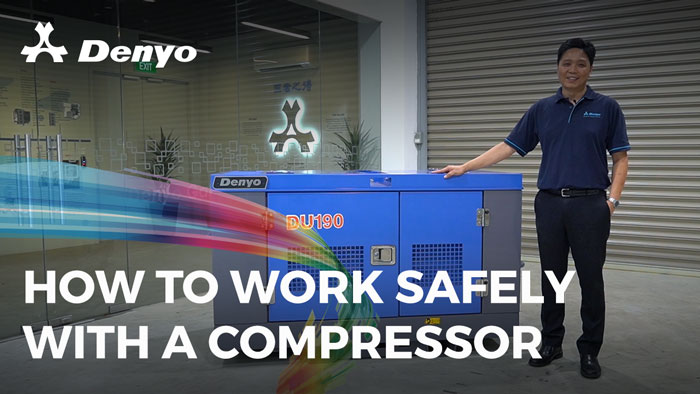 How to Work Safely with an Air Compressor