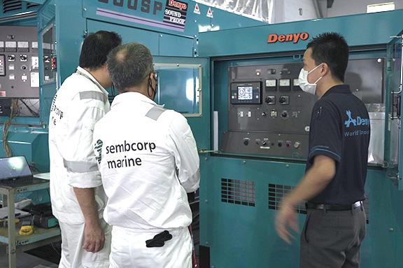 Cooperation with Semcorp Marine