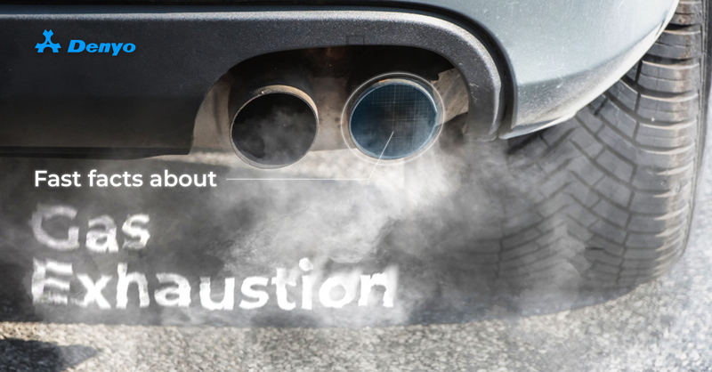 Fast facts about Gas Exhaustion