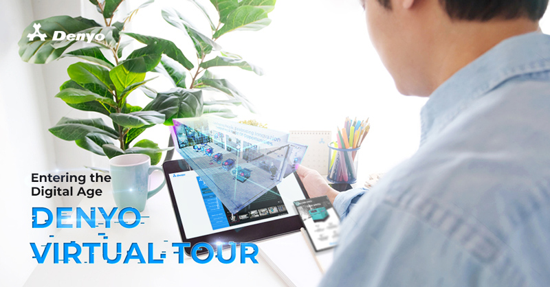 Entering the Digital Age, Denyo Virtual Tour