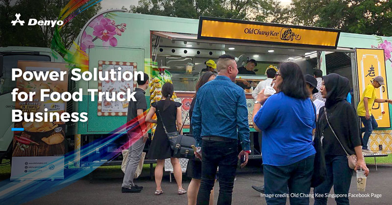 Power Solution for Food Truck Business